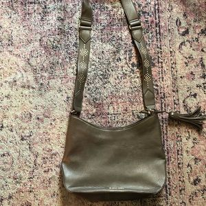Grey Franco Sarto hobo/shoulder bag